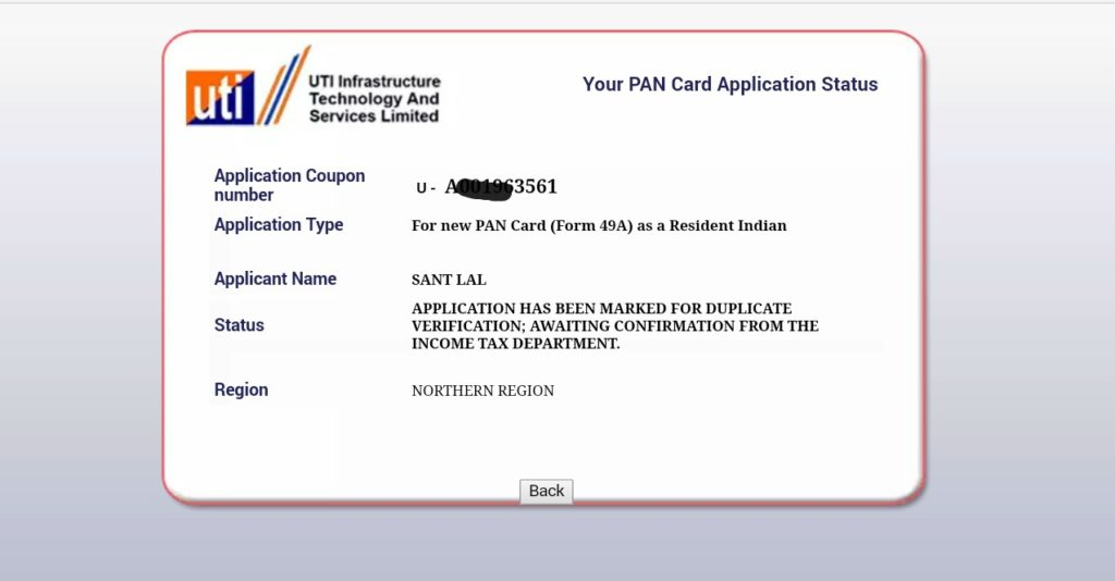 How To Know Pan Card Number By Application How To