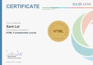 sololern certificate