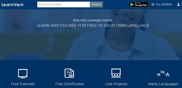 learnvern website